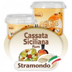 Cassata de rom sicilian
