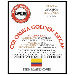 Colombia Golden Decaf