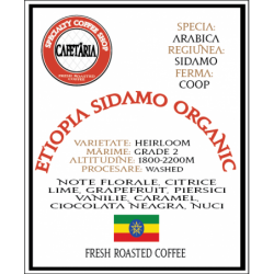 Etiopia Sidamo Organic